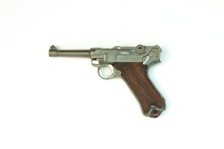 Neatherlands, DWM, model 1908, 9 mm Luger, #2867v, § B *