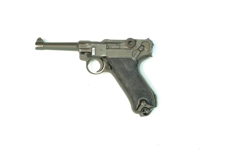 Portugal, Mauser, Pistole 08 Heer, 9 mm Luger, #726m, § B *