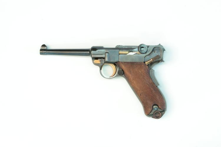 Switzerland, DWM, model 1900 commercial .30 Luger, #718, § B *