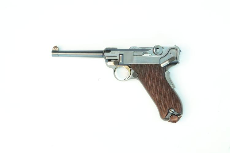 Switzerland, DWM, model 1900 commercial, .30 Luger, #974, § B *