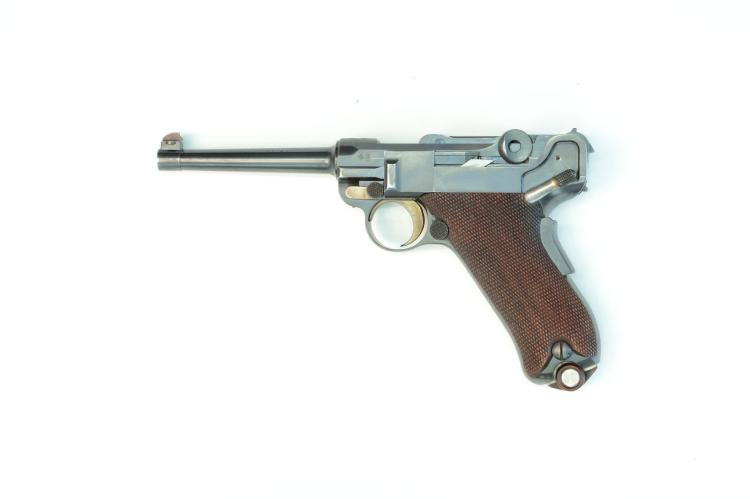 Switzerland, DWM, model 1900, .30 Luger, #1120, § B *