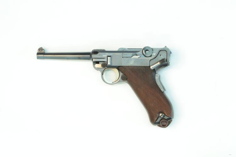 Switzerland, DWM, model 1900, .30 Luger, #1218, § B *