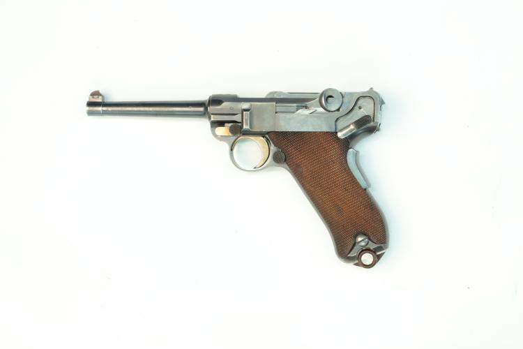 Switzerland, DWM, model 1900, .30 Luger, #199, § B *