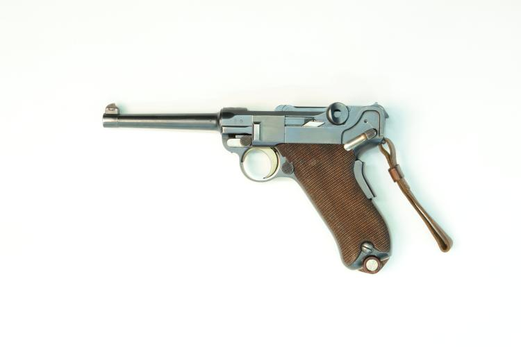 Switzerland, DWM, model 1900, .30 Luger, #3770, § B *