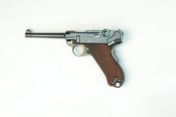 Switzerland, DWM, model 1900, .30 Luger, #378, § B *