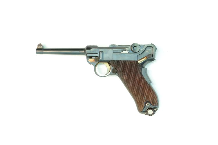 Switzerland, DWM, model 1900, .30 Luger, #5002A, § B *