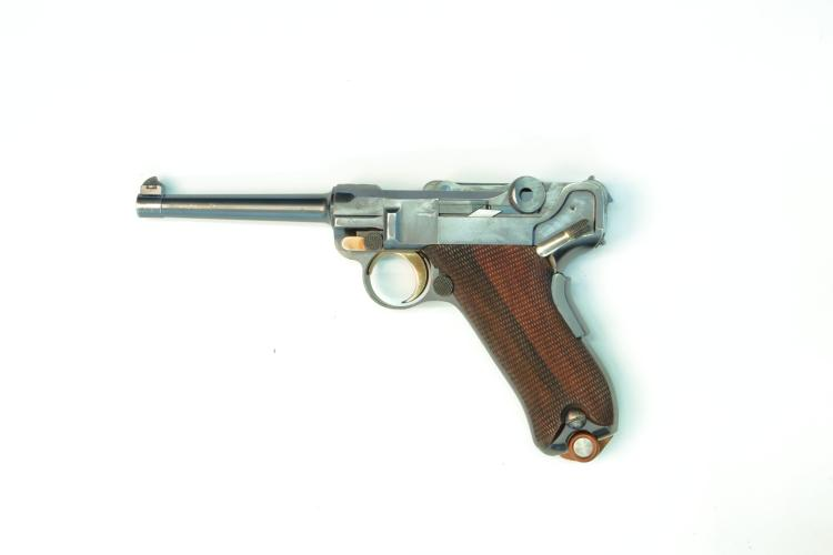 Switzerland, DWM, model 1900, .30 Luger, #866, § B *