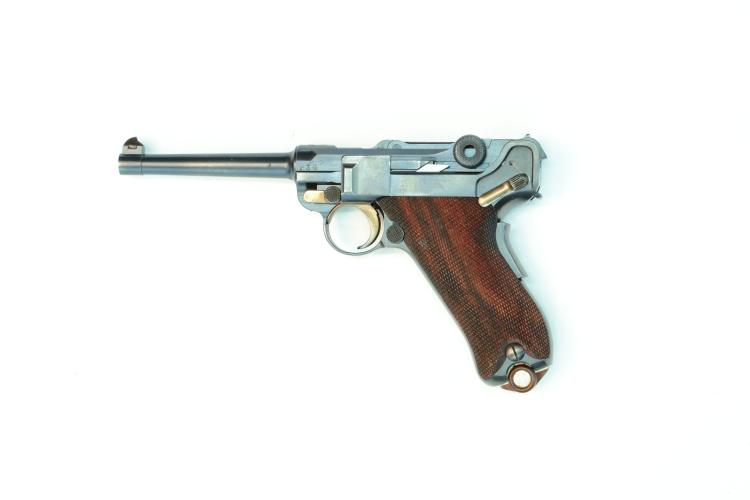 Switzerland, DWM, model 1900/06, .30 Luger, #8429, § B *