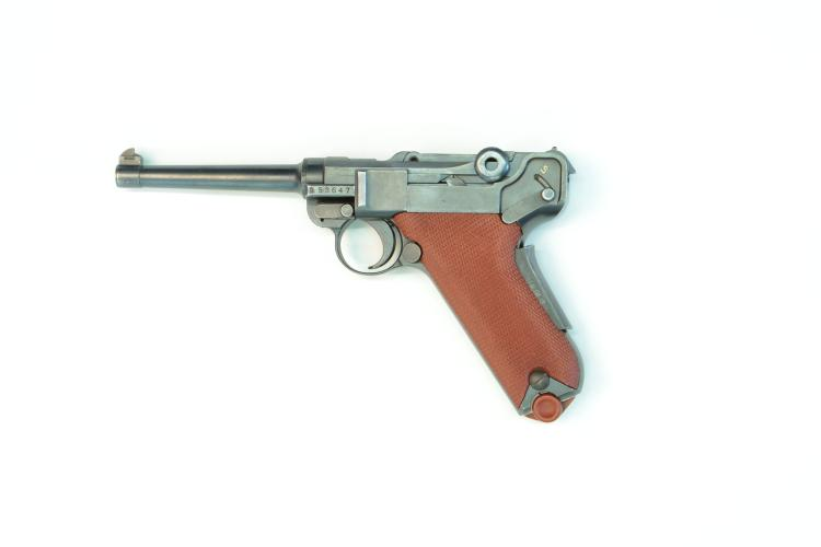 Switzerland, Waffenfabrik Bern, model 1906/29, .30 Luger, #53647, § B *