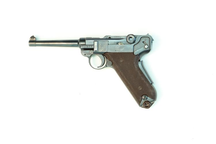 Switzerland, Waffenfabrik Bern, model 1906/29, .30 Luger, #57877, § B *