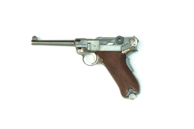 Switzerland, Waffenfabrik Mauser, model 1906/34, .30 Luger, #3605v, § B *