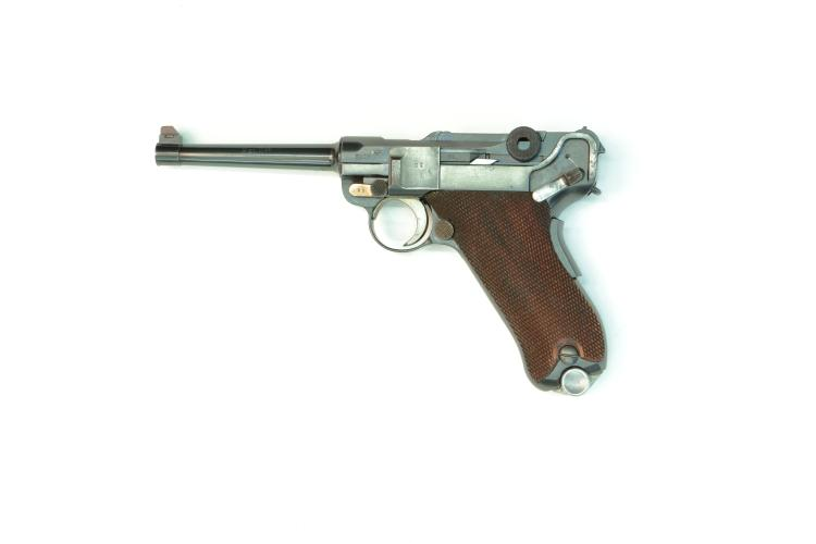 Switzerland, Waffenfabrik Mauser, model 1906/34, .30 Luger, #3806v, § B *