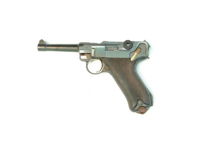 USA, DWM Alphabet Stoeger, 9 mm Luger, #81f, § B *