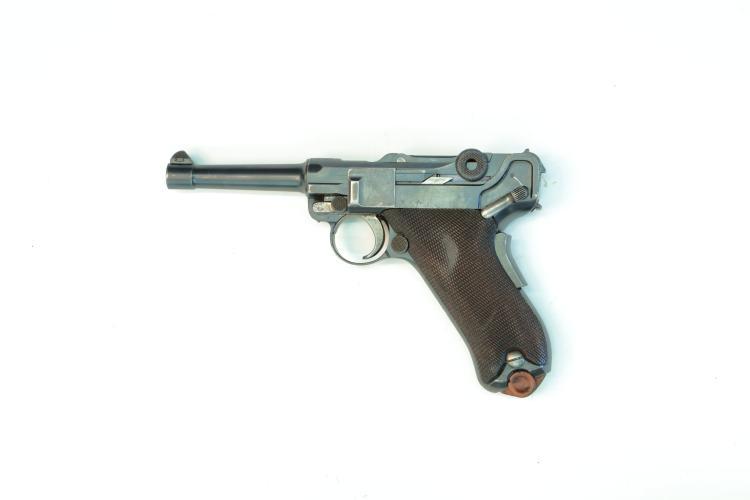 USA, DWM, Mod. 1906 American Eagle, 9 mm Luger, #44727, § B *