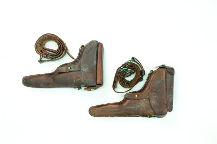 Holsters, mixed lot Switzerland *
