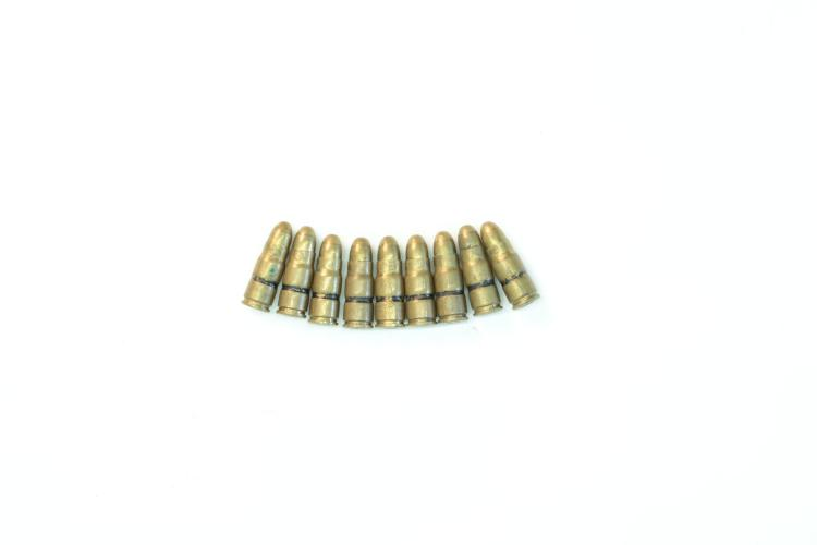 Dummy cartridges .30 Luger, bundle lot *