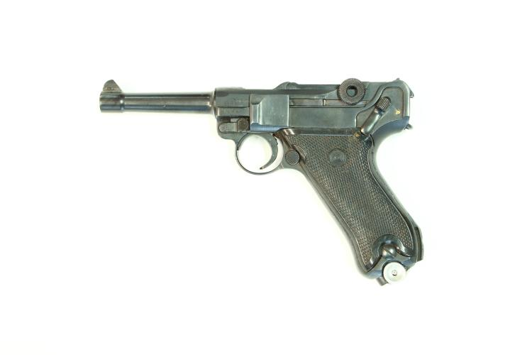 Germany / German Democratic Republic, Mauser, Pistole 08 Volkspolizei, 9 mm Luger, #7985q, § B (W 4100-14)