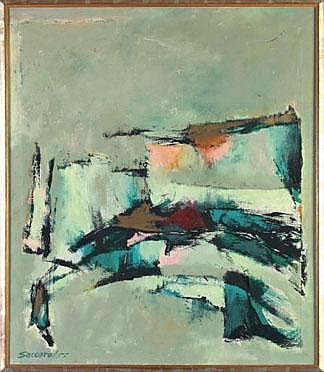 John Saccaro (American/California, 1913-1981)