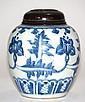 Chinese Ming Blue White Porcelain Jar