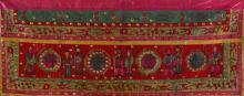 Chinese Embroidery of Ji Xiang Ru Yi Characters