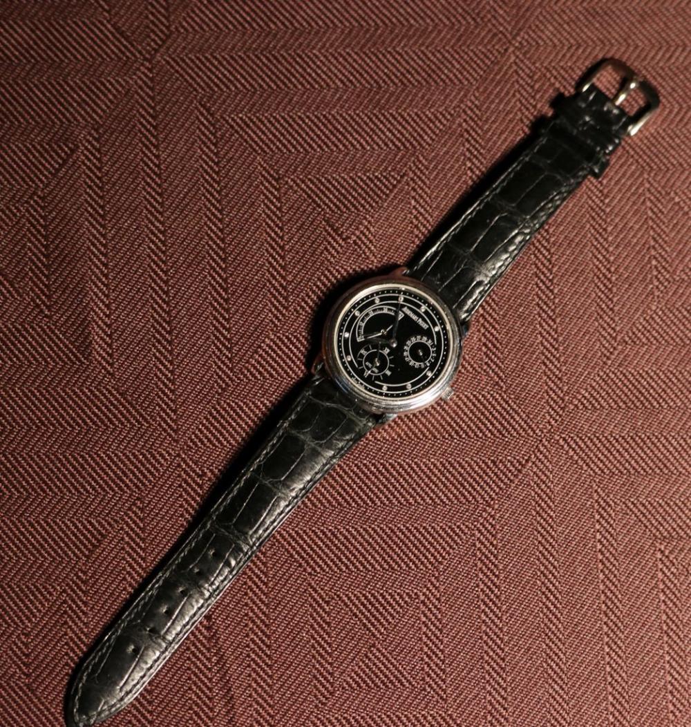 Audemars Piaget Platimun Automatic 48 hours Reserve Man's Wrist Watch