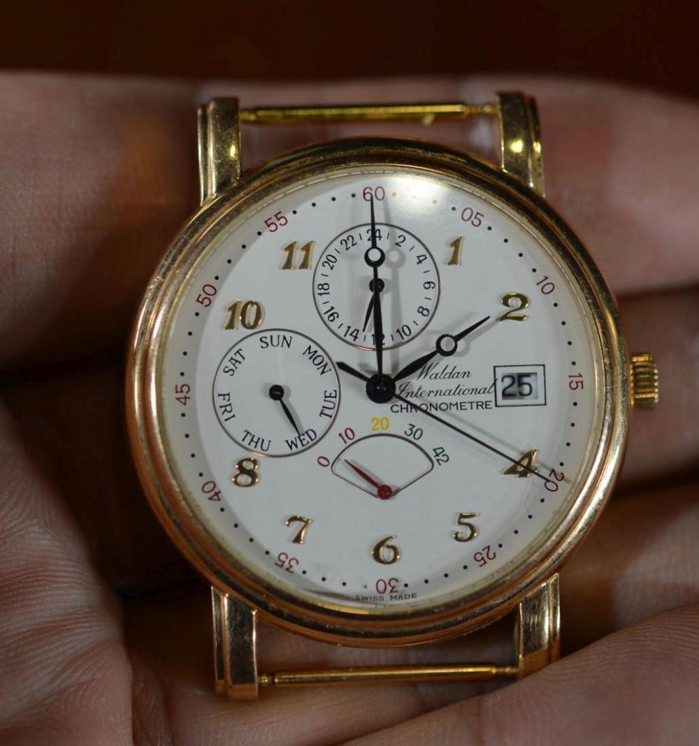 Walden 18K Gold Watch