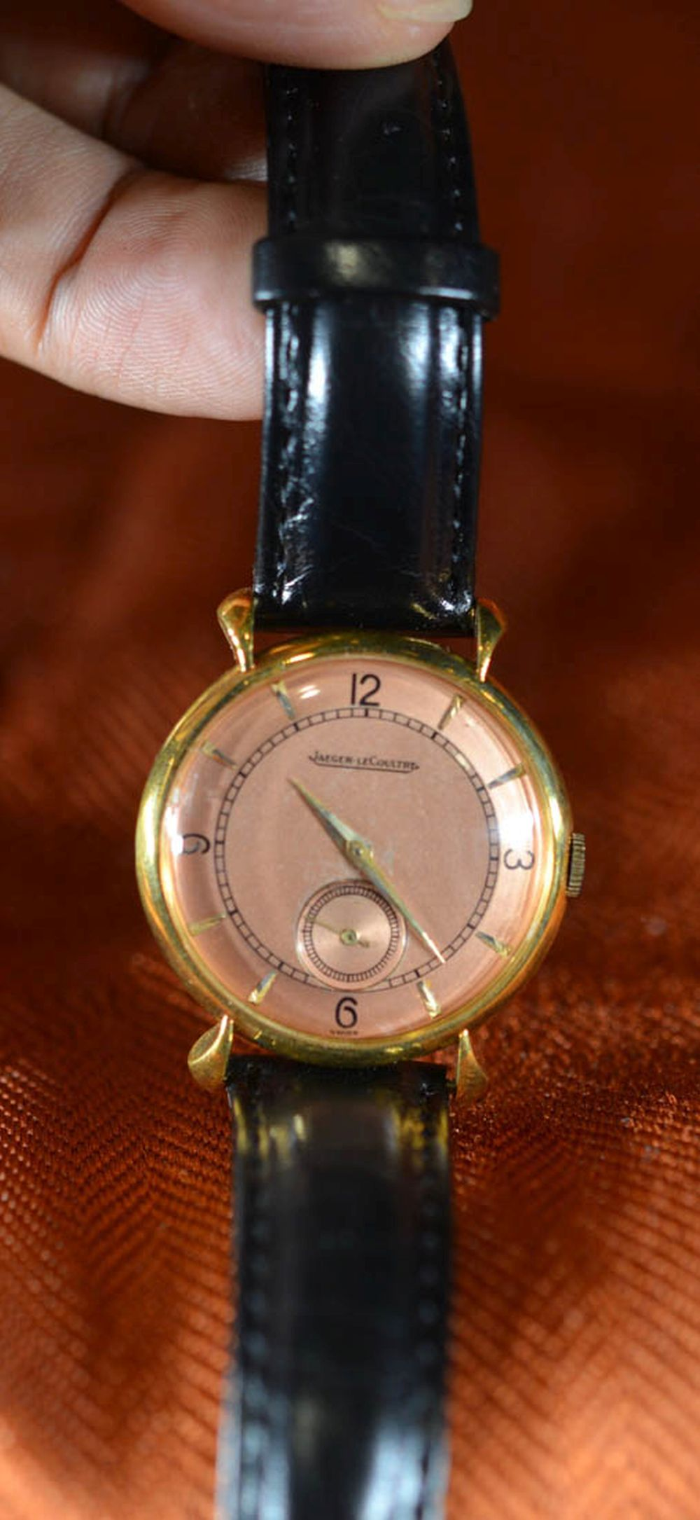 Jager lecoultre Gold Watch