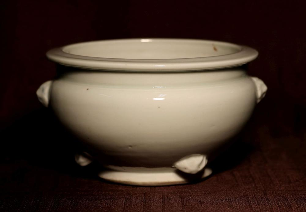 Chinese Blanc de Chine Porcelain Censer