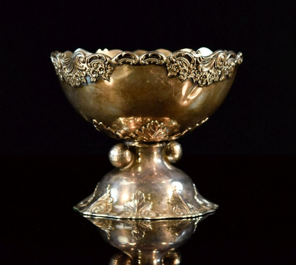 Chinese Export Silver Trophy Bowl