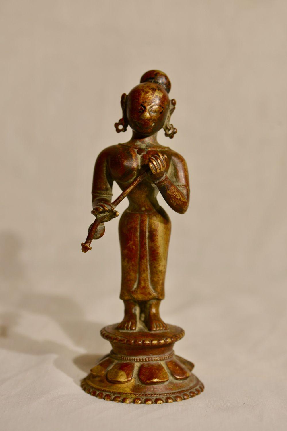 Antique Indian Bronze Dancer