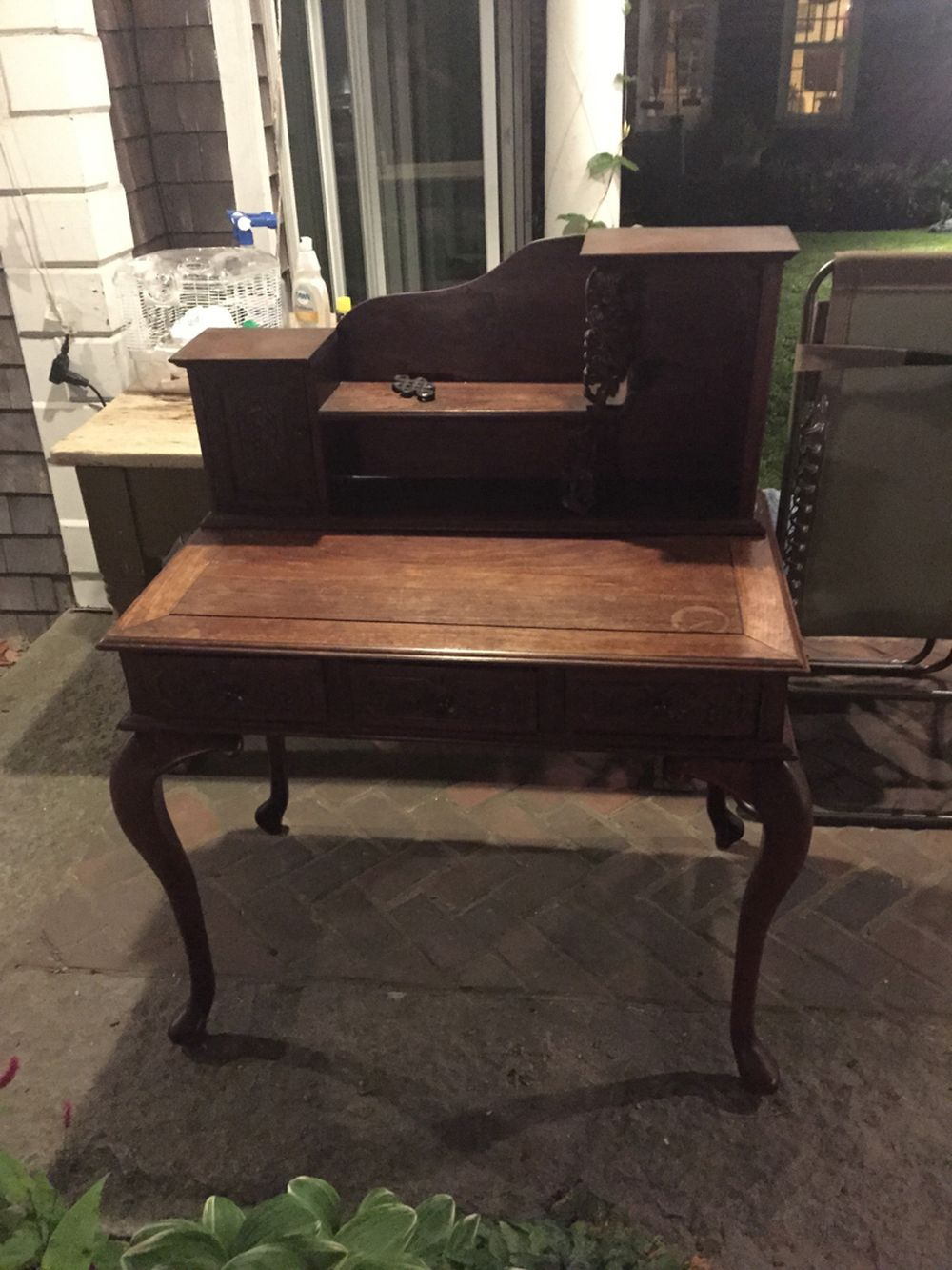 Chinese Rosewood Desk