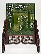 Chinese Spinach Jade Screen