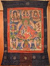 Tibetan Thangka of Lama
