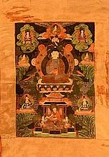 Tibetan Thangka of Buddha