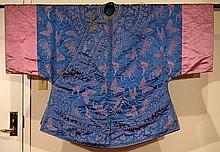 Chinese Silk Brocade Lady Robe