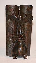 Chinese Ming Bronze Champion Vase