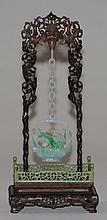 Chinese Jadeite Hanging Basket