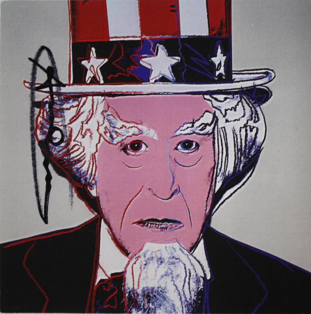Andy Warhol ~ Uncle Sam Invitation