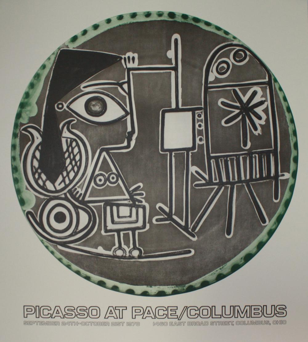1978 Print of Picasso Exhibit at Pace