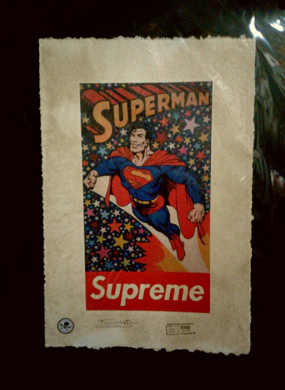 The Supreme Superman ,Limited Edition Print