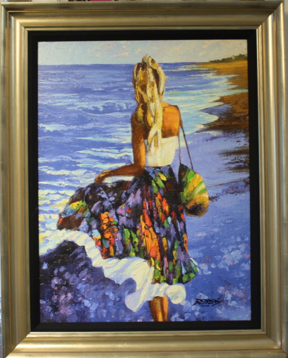 "Howard Behrens (Framed) ""My Beloved by the Sea"", HS #"