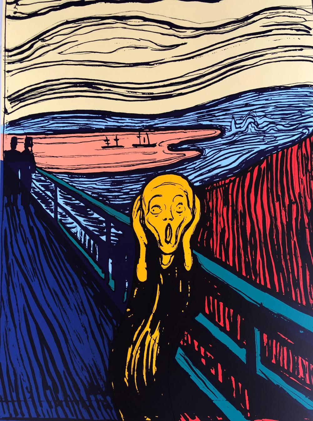 "Andy Warhol, ""The Scream"""