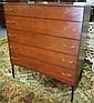 Mid Modern 5 Drawer Dresser