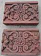 Pair of Terra Cotta Blocks