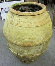 Large Terra Cotta Vessel (Olive Oil)
