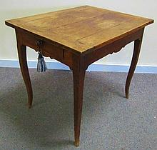 Very Nice French 1 Drawer Table