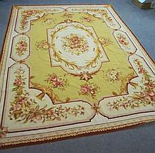 Aubusson Needlepoint Rug
