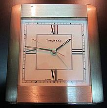 Contemporary Tiffany Travel Clock