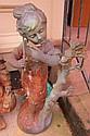 Iron Garden Statue of a Girl