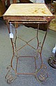 The Best Stone Top & Iron Table